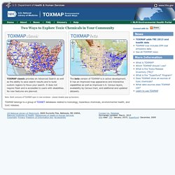TRI and Superfund Environmental Maps