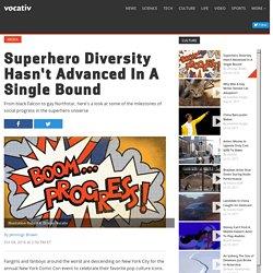 Superhero Diversity Hasn't Advanced In A Single Bound