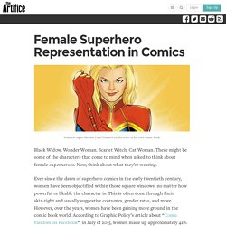 Female Superhero Representation in Comics