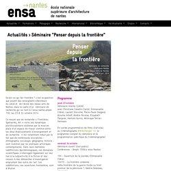École Nationale Supérieure d'Architecture nantes (ENSAN - ENSA nantes France)