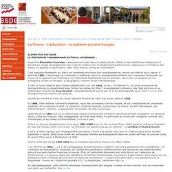 Midi-Pyrénées - La France - L'éducation - le système scolaire français