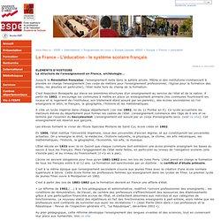 Ecole supérieure du professorat et de l'éducation (ESPE) - La France - L'éducation - le système scolaire français