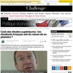 Coût des études supérieures : les étudiants français ont-ils raison de se plaindre ? - 23 août 2013