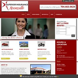 Superior Insurance of Mooresville - Putting the customer first to find the best rates.