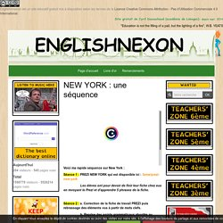 New York superlatif comparatif, questions, used to