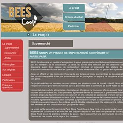 Supermarché « Bees Coop