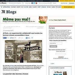 A Paris, un supermarché collaboratif veut rendre les bonnes choses accessibles à tous