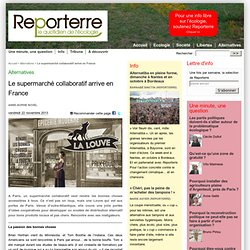 Le supermarché collaboratif arrive en France‏