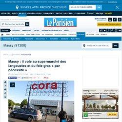 Massy : il vole au supermarché des langoustes et du foie gras « par nécessité »