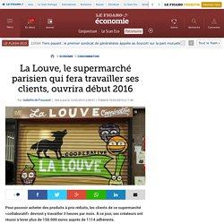La Louve, le supermarché parisien qui fera travailler ses clients, ouvrira début 2016
