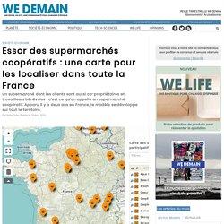 Essor des supermarchés coopératifs : une carte pour les localiser dans toute la France