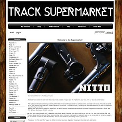Track Supermarket - NJS/Keirin track/fixed gear bikes, frames, and parts from Japan