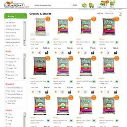 Best Staples & Groceries Online by Lalaji24x7