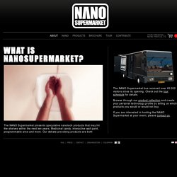 Nano Supermarket - What Is Nanosupermarket?