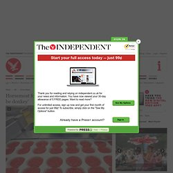 THE INDEPENDENT 10/02/13 Horsemeat found in British supermarkets 'may be donkey'