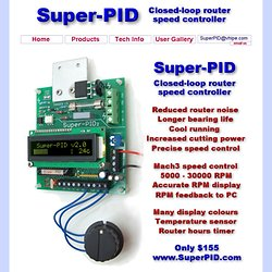 www.SuperPID.com - Super-PID Closed-loop Router Speed Controller