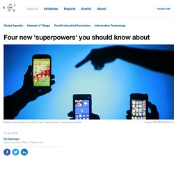 The four tech superpowers changing our world