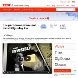 Superpower: Invisibility video
