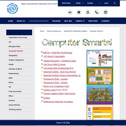 SuperSites for Elementary Students / Computer Smarts! 2