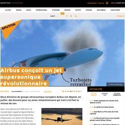 Airbus conçoit un jet supersonique révolutionnaire