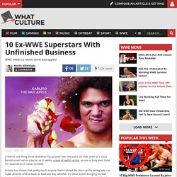 10 Ex-WWE Superstars With Unfinished Business