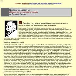 Religion y supersticion en Requiem por un campesino español de Ramon J. Sender