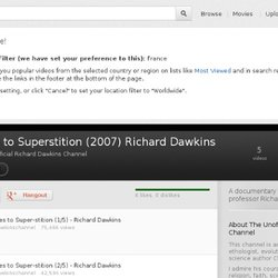 Slaves to Superstition (2007) Richard Dawkins