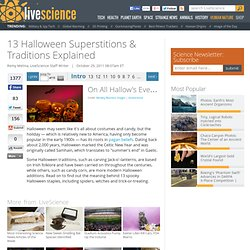 13 Halloween Superstitions & Traditions Explained | Black Cats & Witches | Jack-o'-Lanterns & Trick-or-Treating | History of Halloween