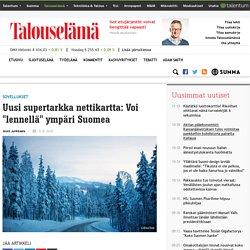 """Uusi supertarkka nettikartta: Voi """"lennellä"""" ympäri Suomea"""