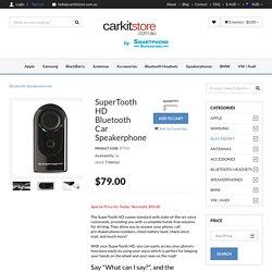 SuperTooth HD Bluetooth Car Kit Speakerphone AU