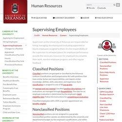_UARK Supervising Employees