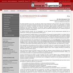 EL SISTEMA EDUCATIVO DE ALEMANIA