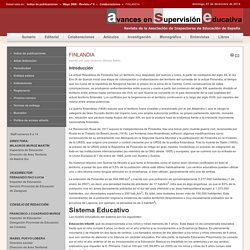 avances en supervision educativa - FINLANDIA