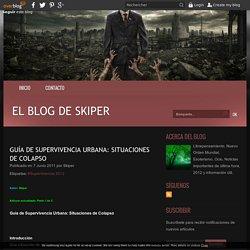 Guía de Supervivencia Urbana: Situaciones de Colapso - El blog de skiper