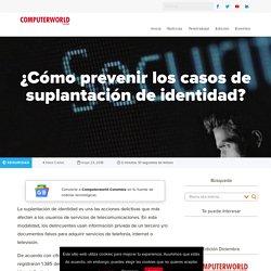 ¿Cómo prevenir los casos de suplantación de identidad?