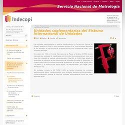 Unidades suplementarias del Sistema Internacional de Unidades - Portal INDECOPI