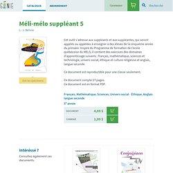 Géniepublication - GP162 Méli-Mélo Suppléant 5