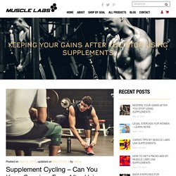 Legal Steroid Supplements