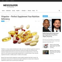 Vitapulse Perfect Supplement Your Nutrition Deficiency