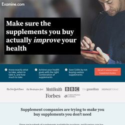 Supplement Guides - Stop wasting your time and money