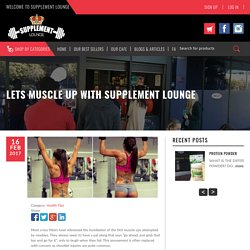 Supplement Lounge: Helpful Tips About How to Muscle Ups's