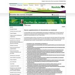 Rémunération au rendement (Manitoba)