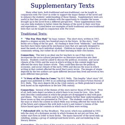 Supplementary Texts