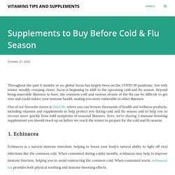 NineLife- Supplements to Buy Before Cold & Flu Season