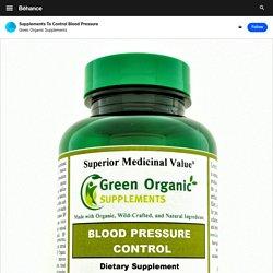 Best Supplements for Blood Pressure