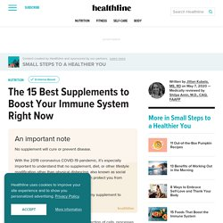Can Supplements Fight Coronavirus (COVID-19)? 15 Immune Boosters