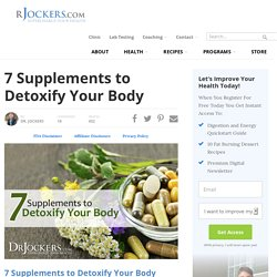 supplements to detoxify your body