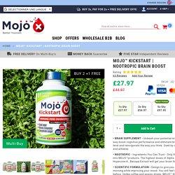MOJO™ KICKSTART - Nootropic Alpha Brain Wave Boost Mental Supplements Focus Nootropics Enhancement