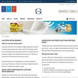 Dietary Supplements for Lactose Intolerance