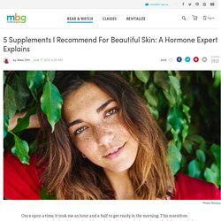 5 Supplements That Help Treat Acne
